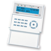 INT- KLCD-BL LCD Betjeningspanel m. klap