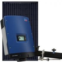 Solcellepakke 6,3 KW til skrå eternit tag
