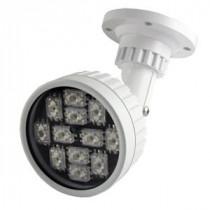IR Lampe 100M 30 grader 12 LED's