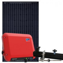 Solcellepakke 4,0 KW til skrå eternit tag